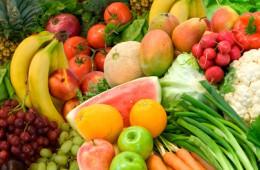 Frisches Obst und Gemüse sind gut für Neurodermitiker